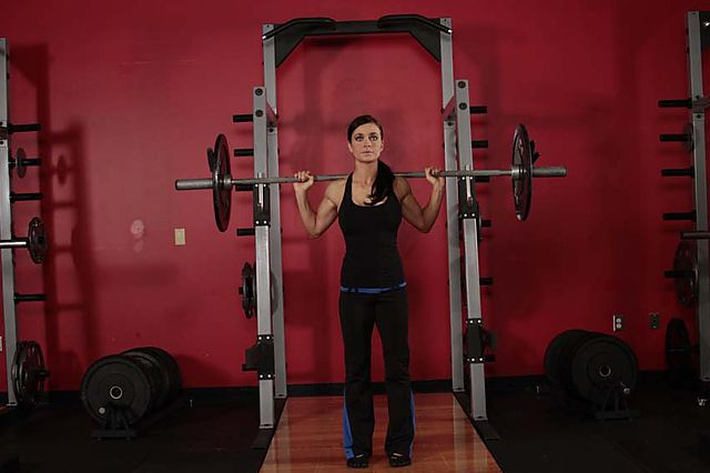 Photo of Push Press - Behind the Neck  exercise