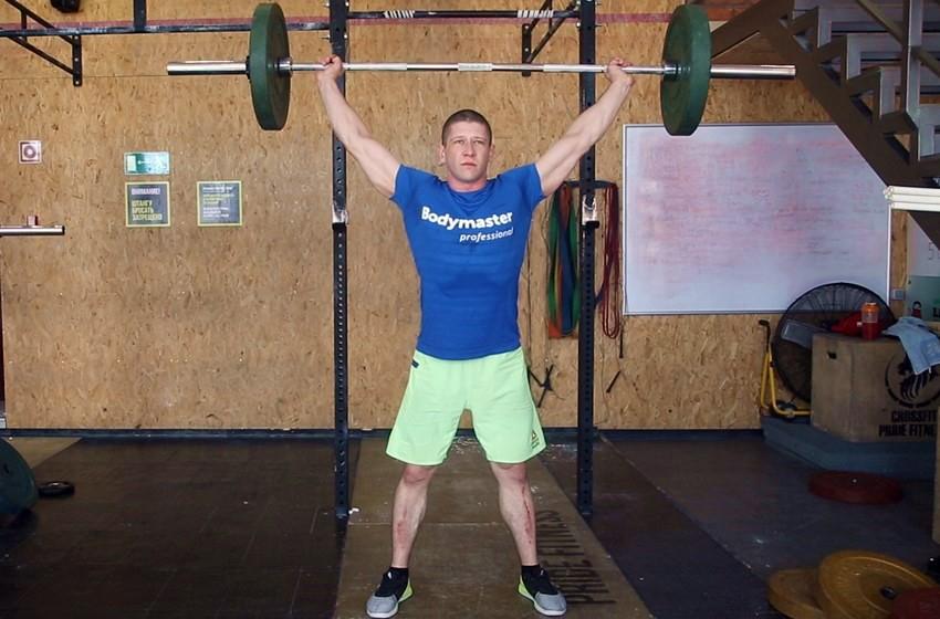 Exercise Overhead Squat