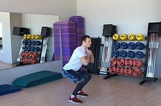Freehand Jump Squat