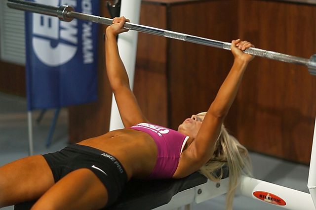 Photo of Barbell Bench Press - Medium Grip exercise