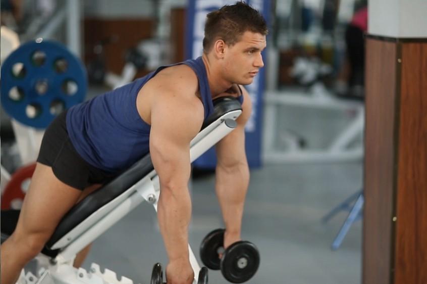 Exercise Middle Back Shrug