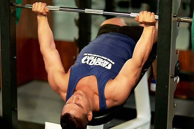 Photo of Decline Barbell Bench Press  exercise