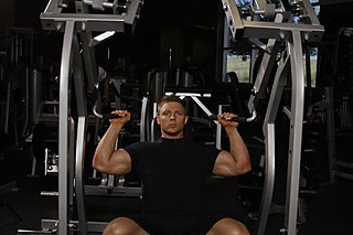 Leverage Shoulder Press