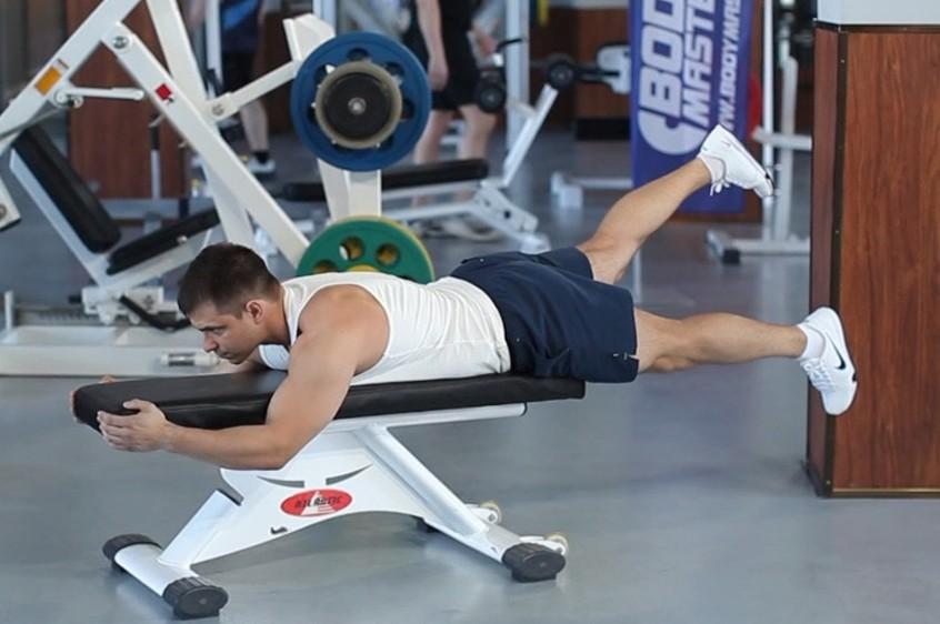 Exercise Flutter Kicks