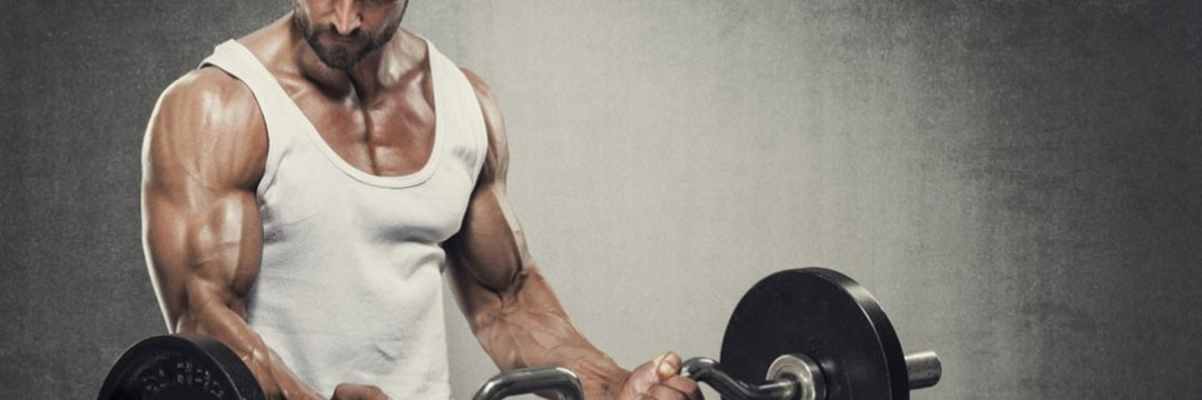 Mass Gain » Training program with dumbbells and a barbell at home double mesocycle