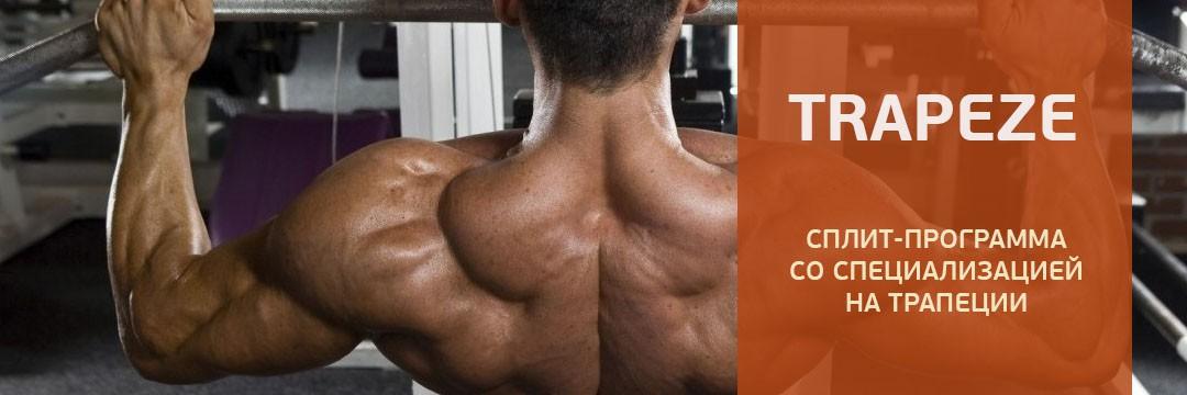 Gain Strength » Trapeze: специализированый апгрейд трапеций