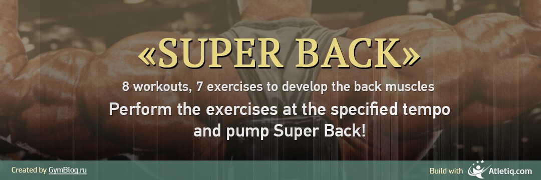 Mass Gain » Super Back