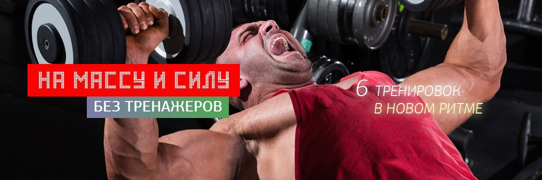 Набор мышечной массы » На массу и силу без тренажеров