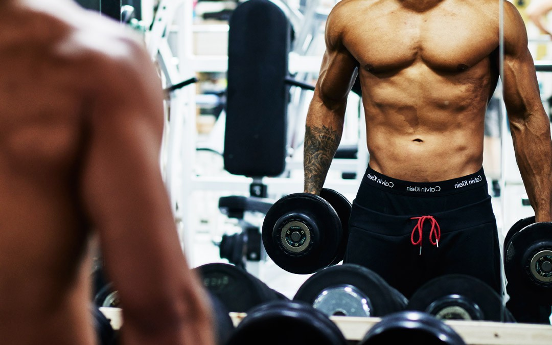 Fat Burning » Workout routine for fat burning with dumbbells and body weight